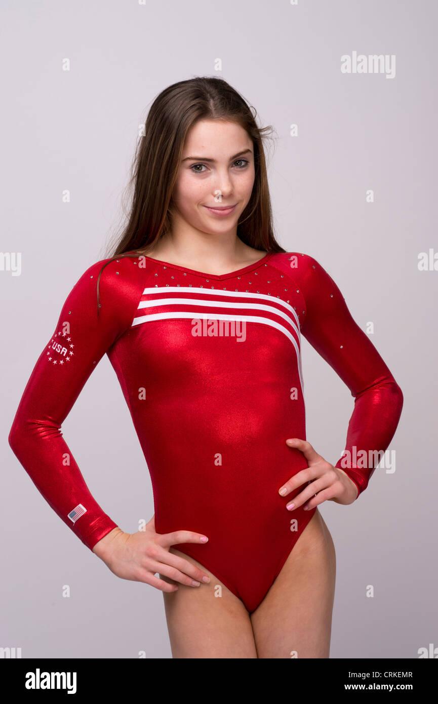 american female gymnast