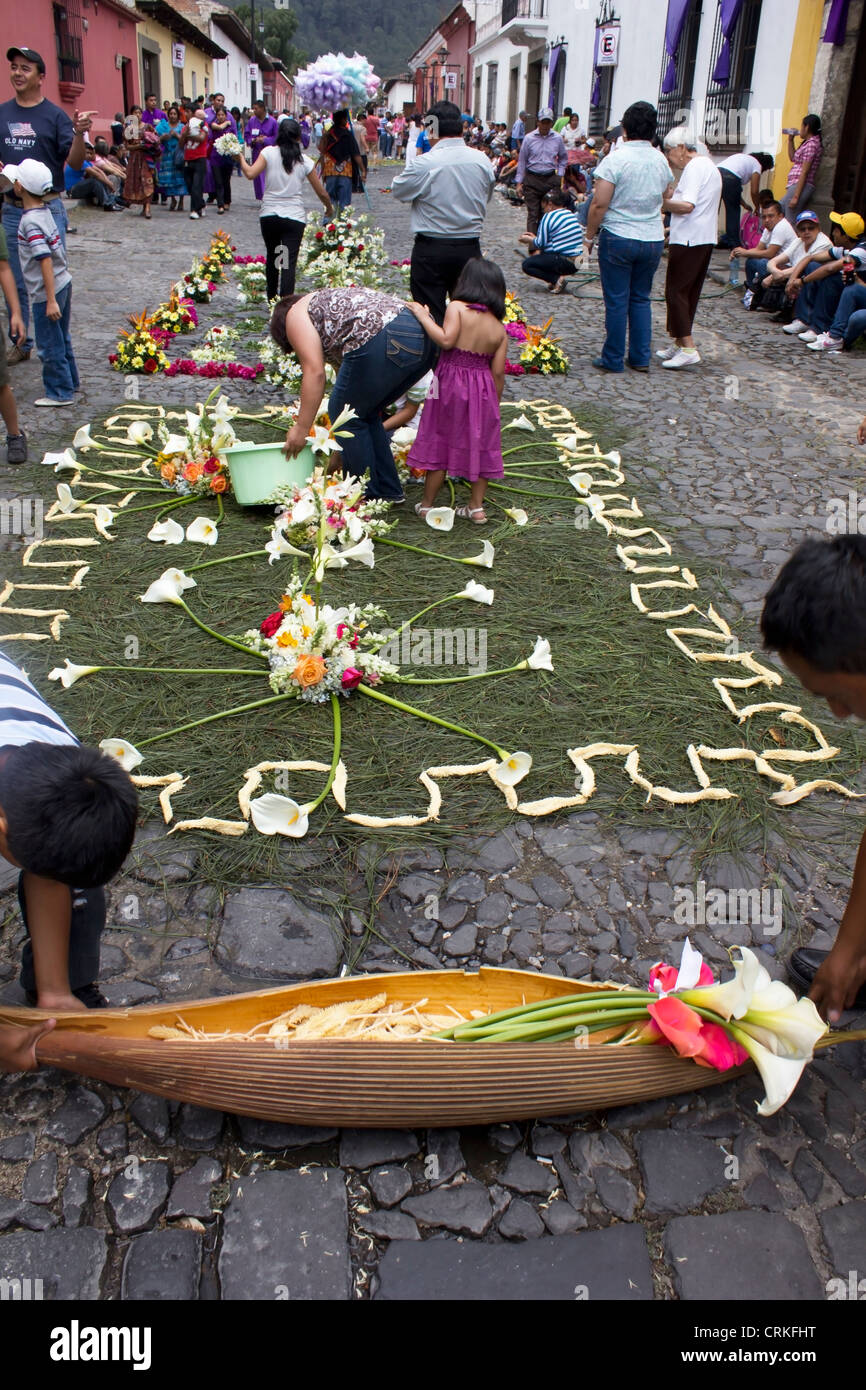 Guatemala and It´s Traditions - Stock Image