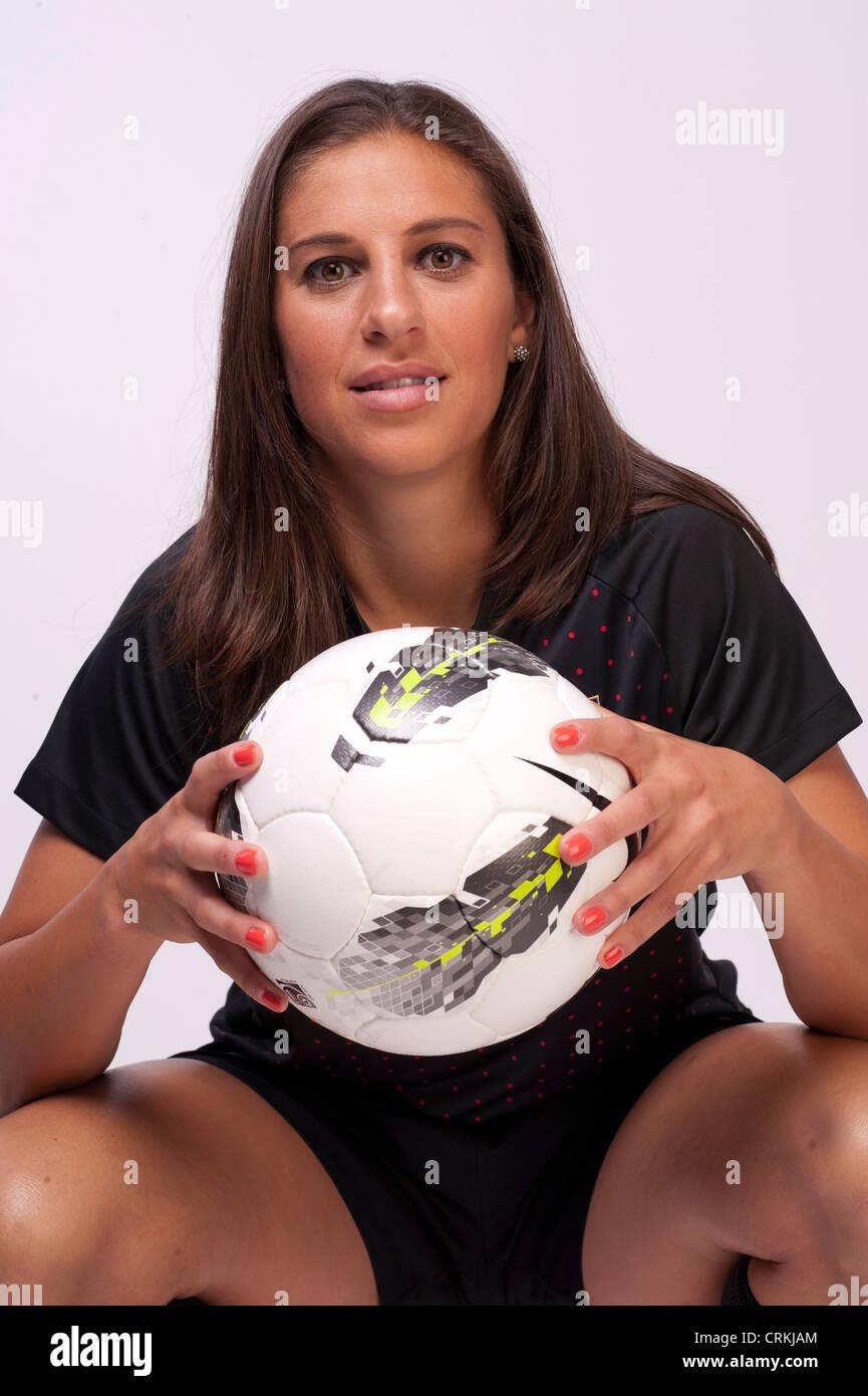 Soccer Player Carli Lloyd At The Team Usa Media Summit In Dallas Tx