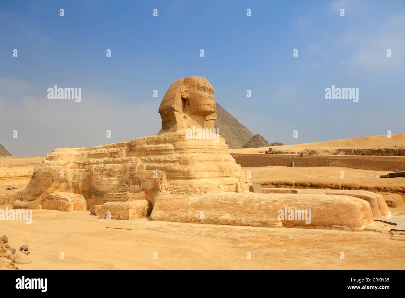 The Great Sphinx of Giza, Egypt - Stock Image