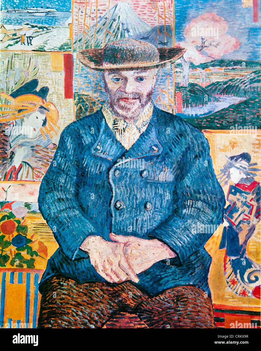 Le Pere Tanguy - Van Gogh - Stock Image