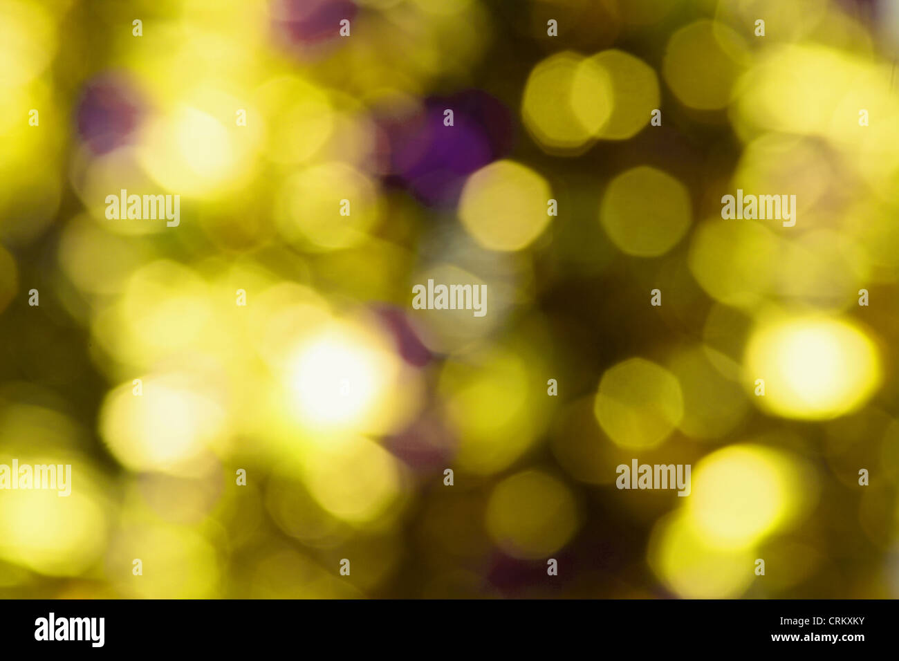 Blurry Lights - Stock Image