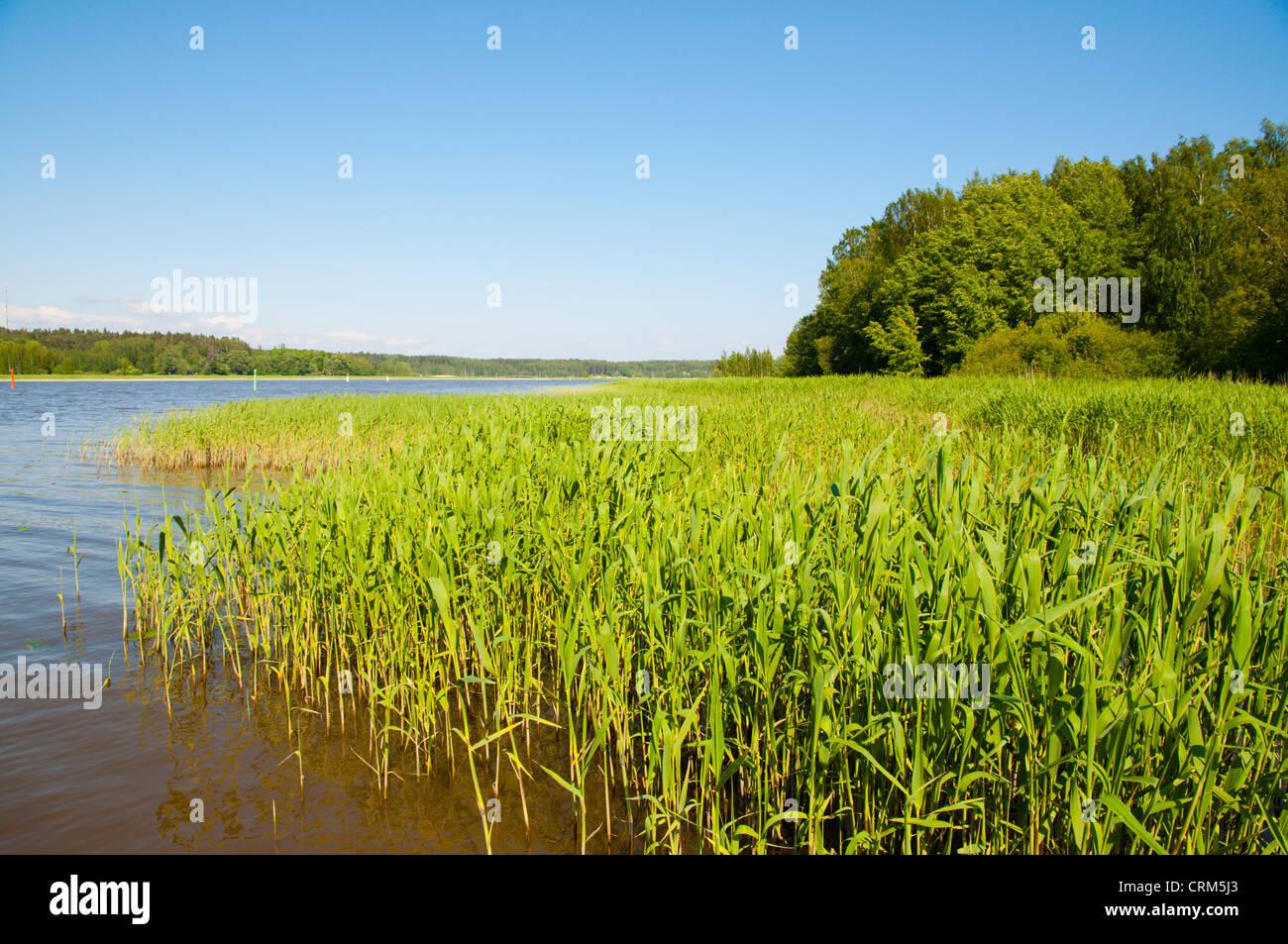 Porvoonjoki river Porvoo Uusimaa province Finland northern Europe - Stock Image