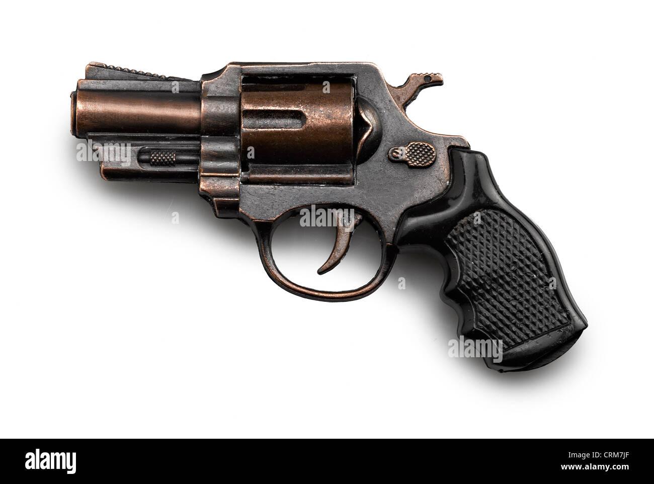 Revolver Gun, toy for children - Stock Image