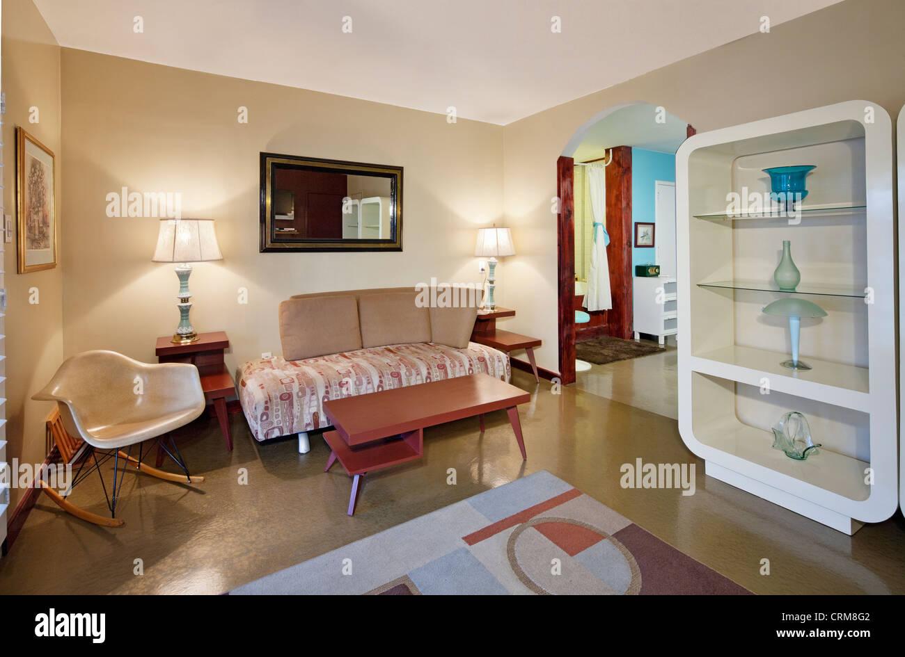 Living room interior design - Stock Image