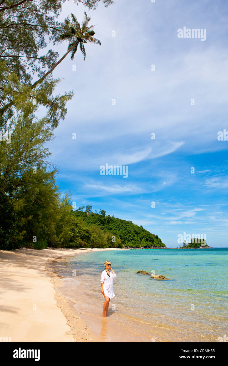 Tioman Island in South China Sea, Malaysia - Stock Image