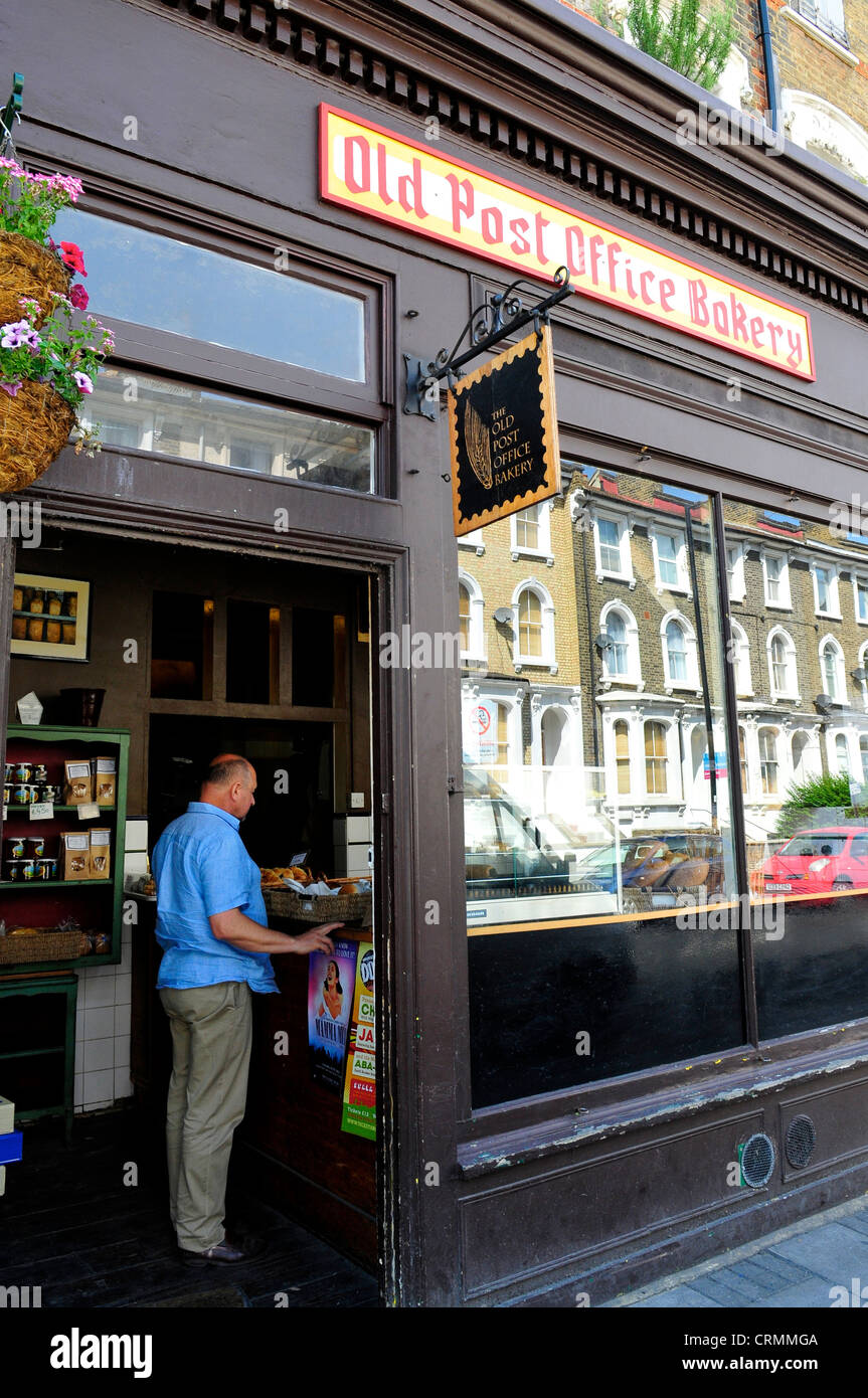 The Old Post Office Bakery, Stockwell, London, England, UK - Stock Image