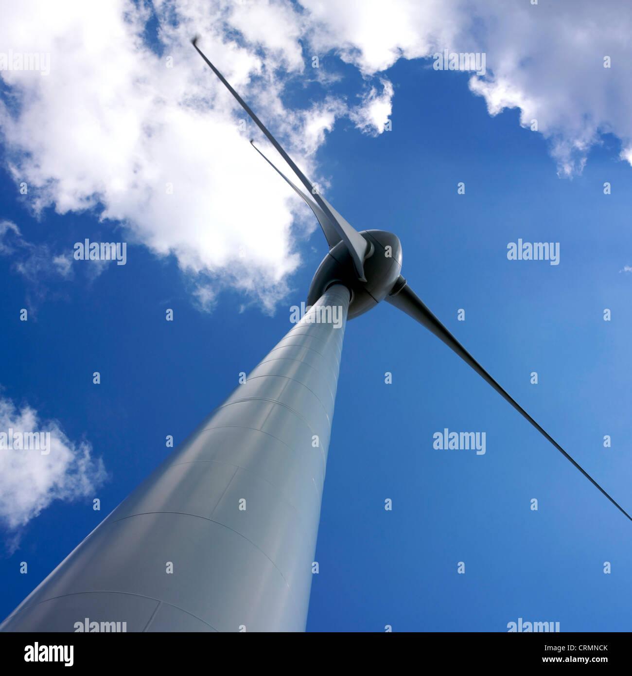 Wind turbine detail - Stock Image