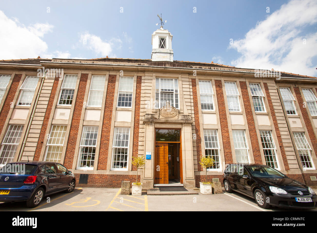The Kings school, an ancient independant Grammar School that was founded in 1506 in Macclesfield, Cheshire, UK. - Stock Image