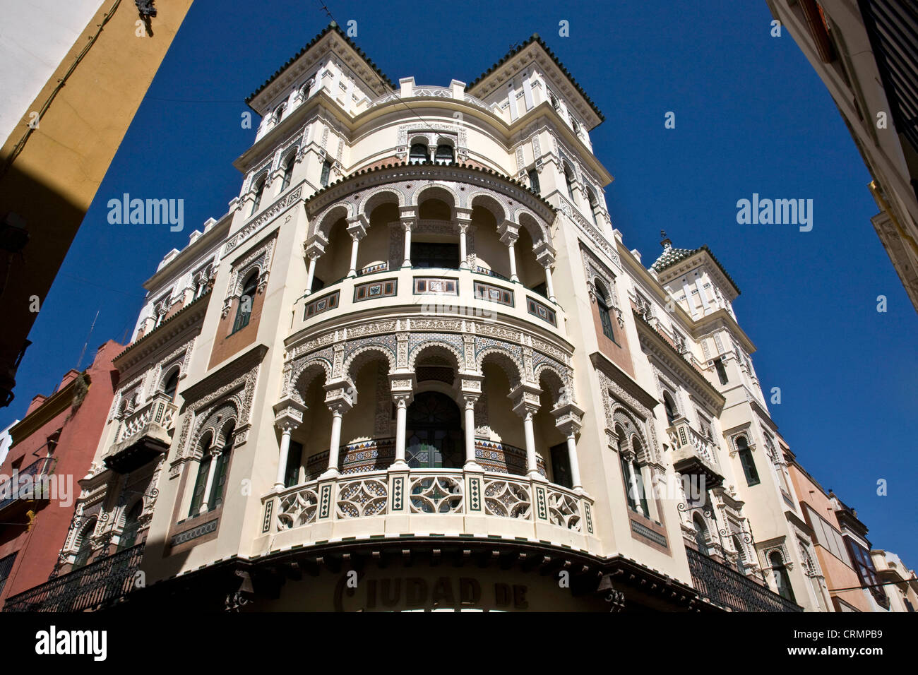 Europa Spain  Andalusia Seville architecture - Stock Image