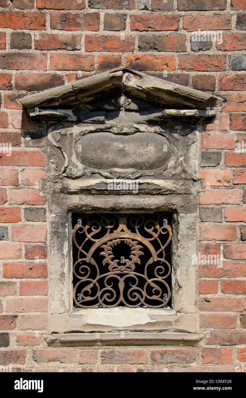 Denmark, Helsingoer. The church of St. Mary & Monastery of Our Lady, c. 1430. Monastery detail. - Stock Image