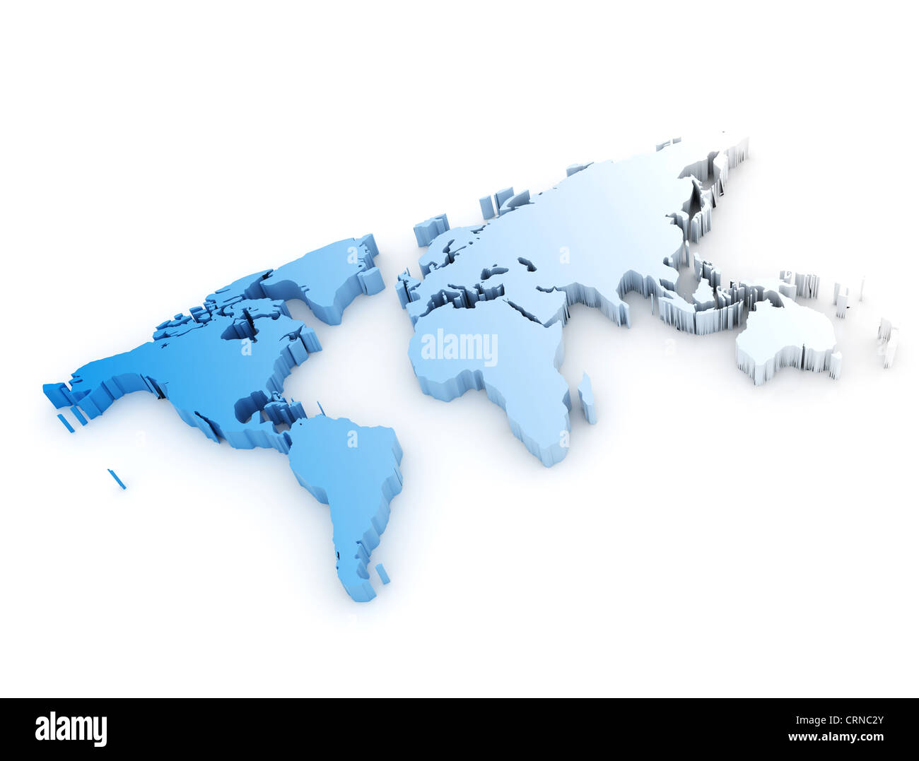 3d world map stock photo 49028307 alamy 3d world map gumiabroncs Image collections
