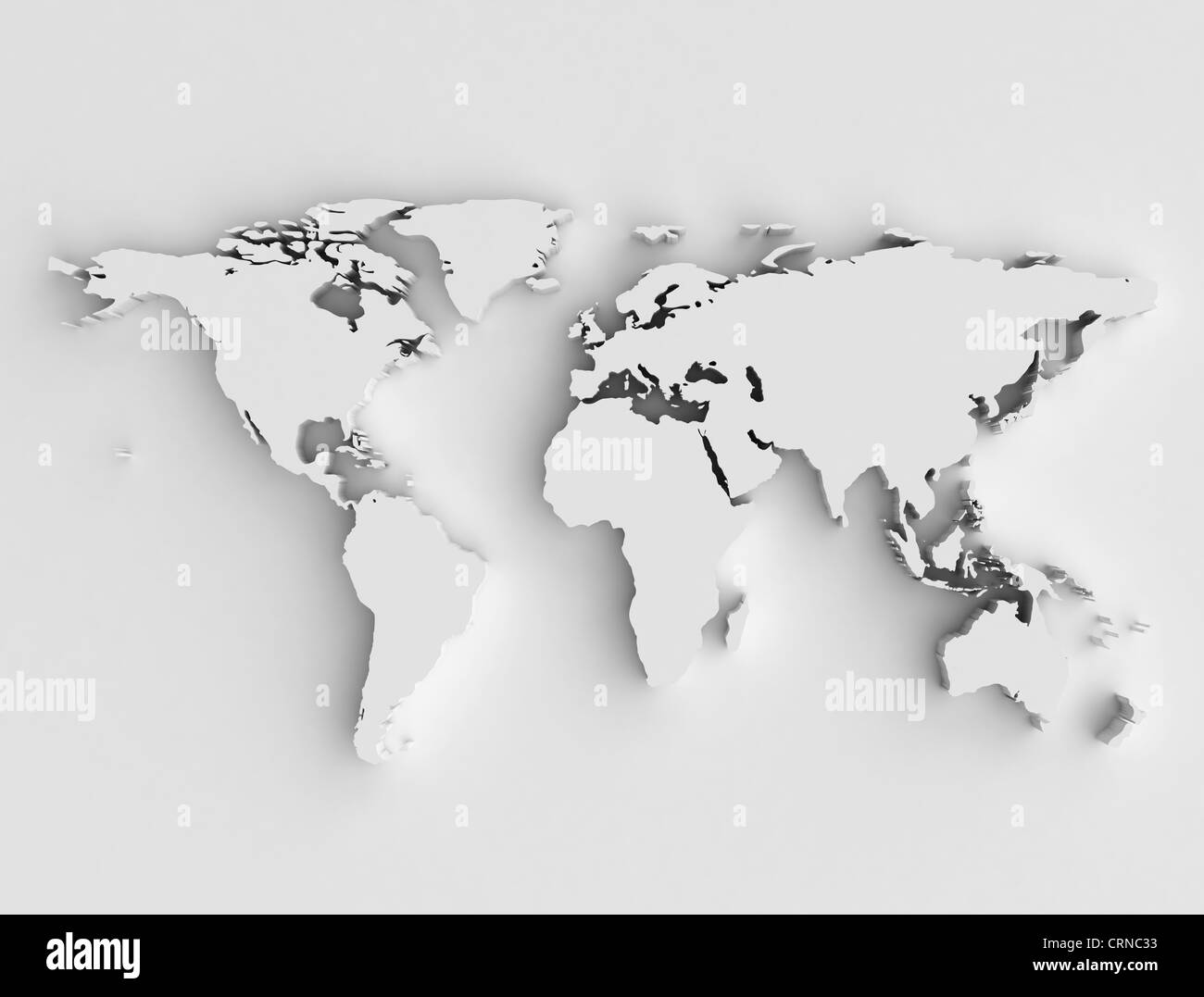 World map 3d high resolution stock photo 49028311 alamy world map 3d high resolution gumiabroncs Image collections