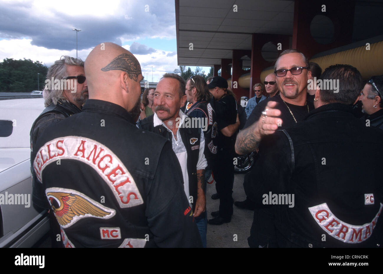 Hells Angels Germany Stock Photos & Hells Angels Germany Stock