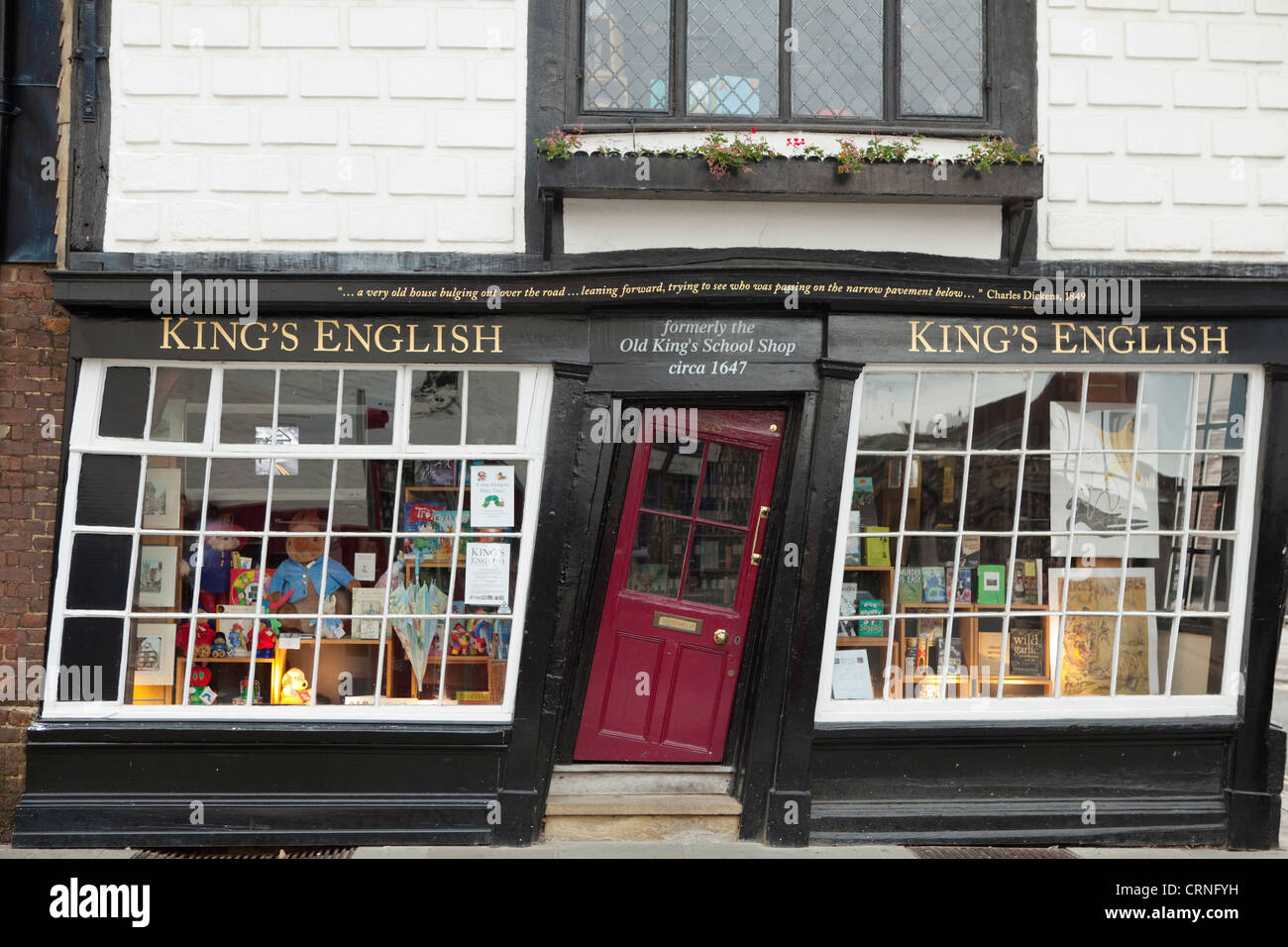 The crooked door King\u0027s English an independent bookshop in a 17th century townhouse once the shop for Old King\u0027s School. & The crooked door King\u0027s English an independent bookshop in a 17th ...