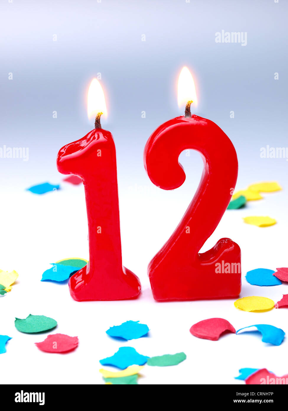 Birthday Anniversary Candles Showing Nr 12