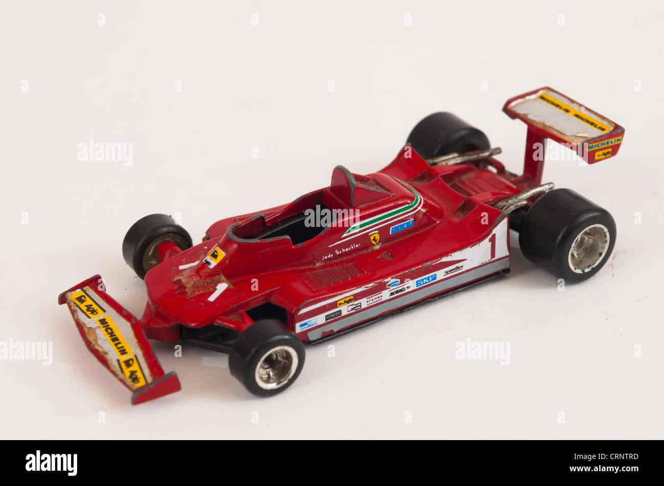 Polistil Jody Schekler F1 Ferrari Toy Model - Stock Image