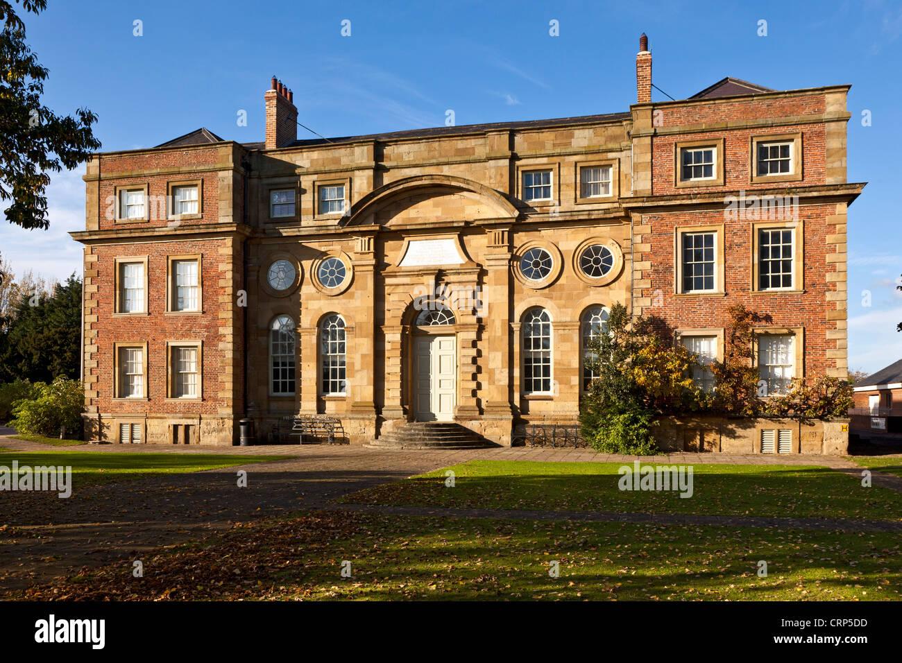 Kirkleatham Museum in Kirkleatham Old Hall, built in 1709 as a 'Free School'. Stock Photo