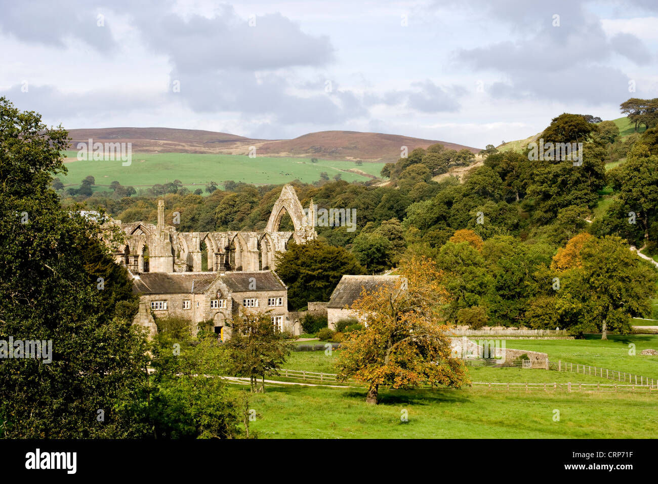 Bolton Abbey, North Yorkshire Dales Stock Photo