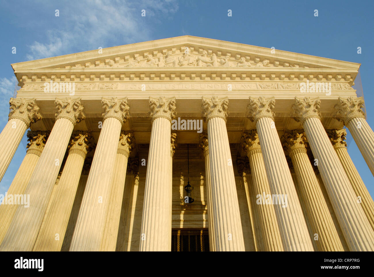 United States Supreme Court building - Stock Image