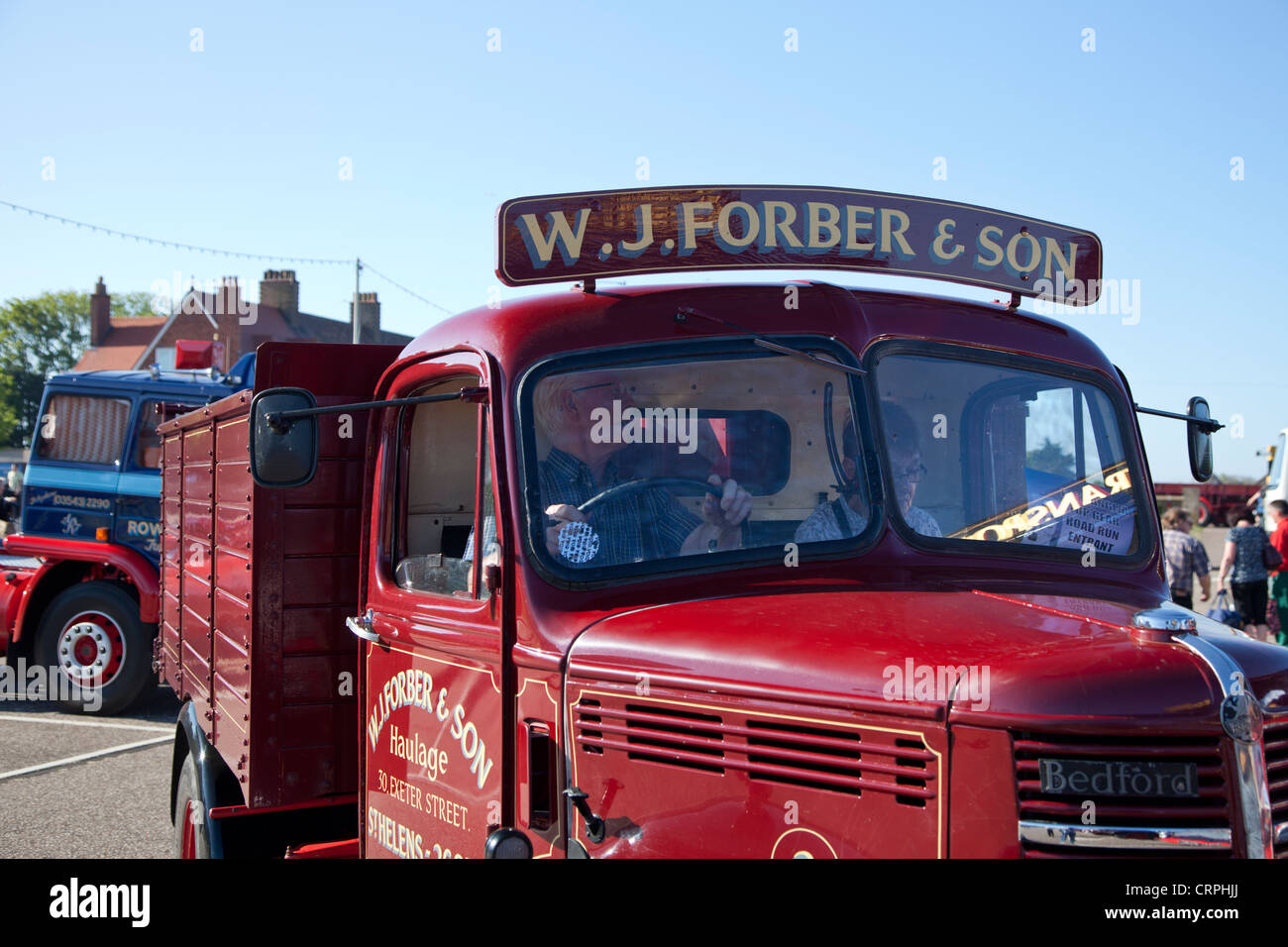 1946 Bedford OST with W. J Forber & Son livery - Stock Image