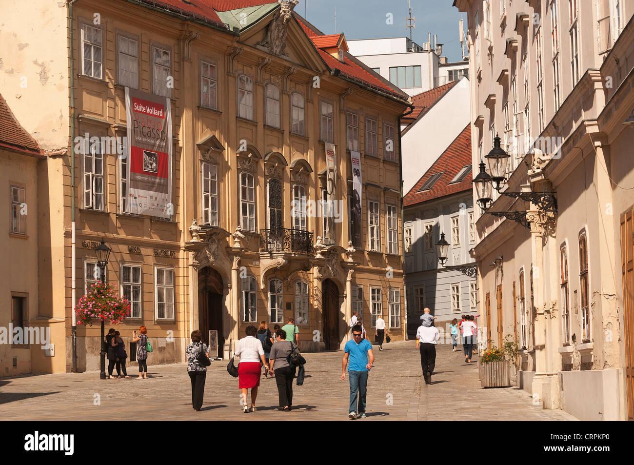 Elk189-1096 Slovakia, Bratislava, Mirbach Palace - Stock Image