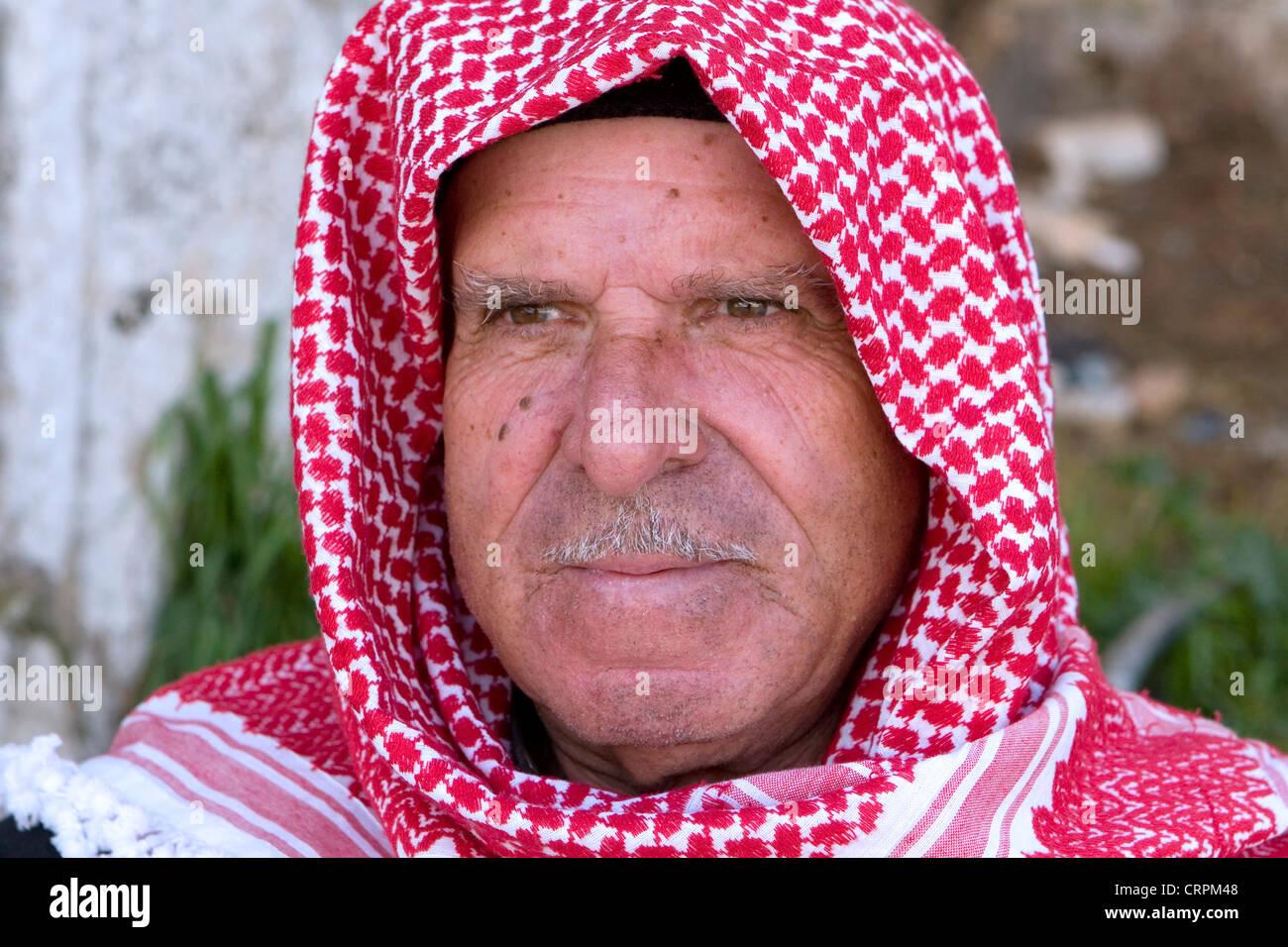Arab man, Jerusalem, Israel - Stock Image