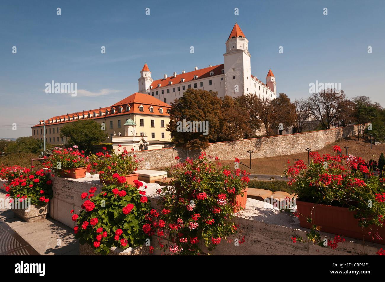 Elk189-1161 Slovakia, Bratislava, Bratislava Castle - Stock Image