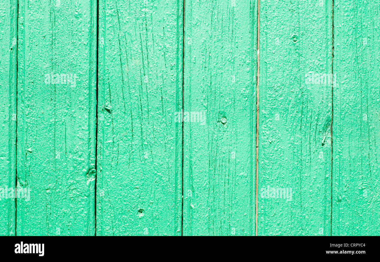 paint wooden planks great as a background - Stock Image