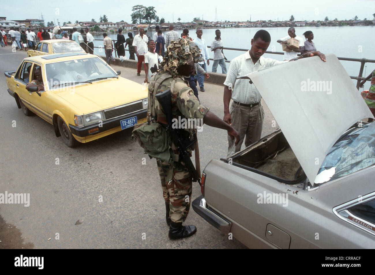 Liberia, ECOMOG - Stock Image