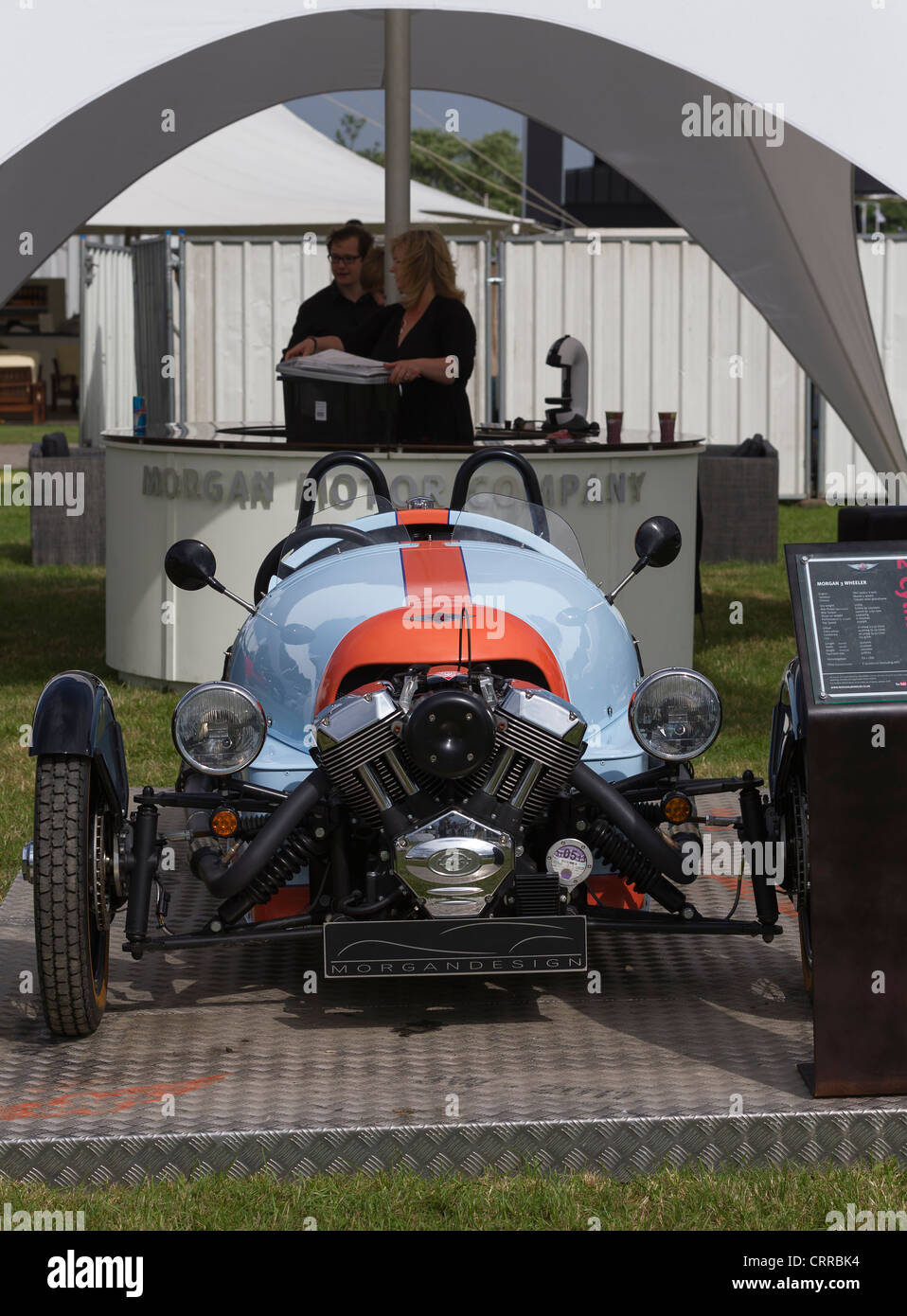 28th June 2012. Festival of Speed. Goodwood House. West Sussex. UK - Stock Image