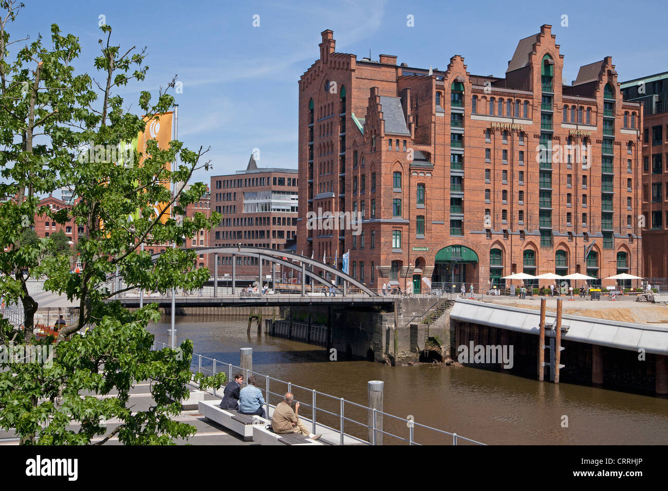Maritime Museum, Harbour City, Hamburg, Germany Stock Photo