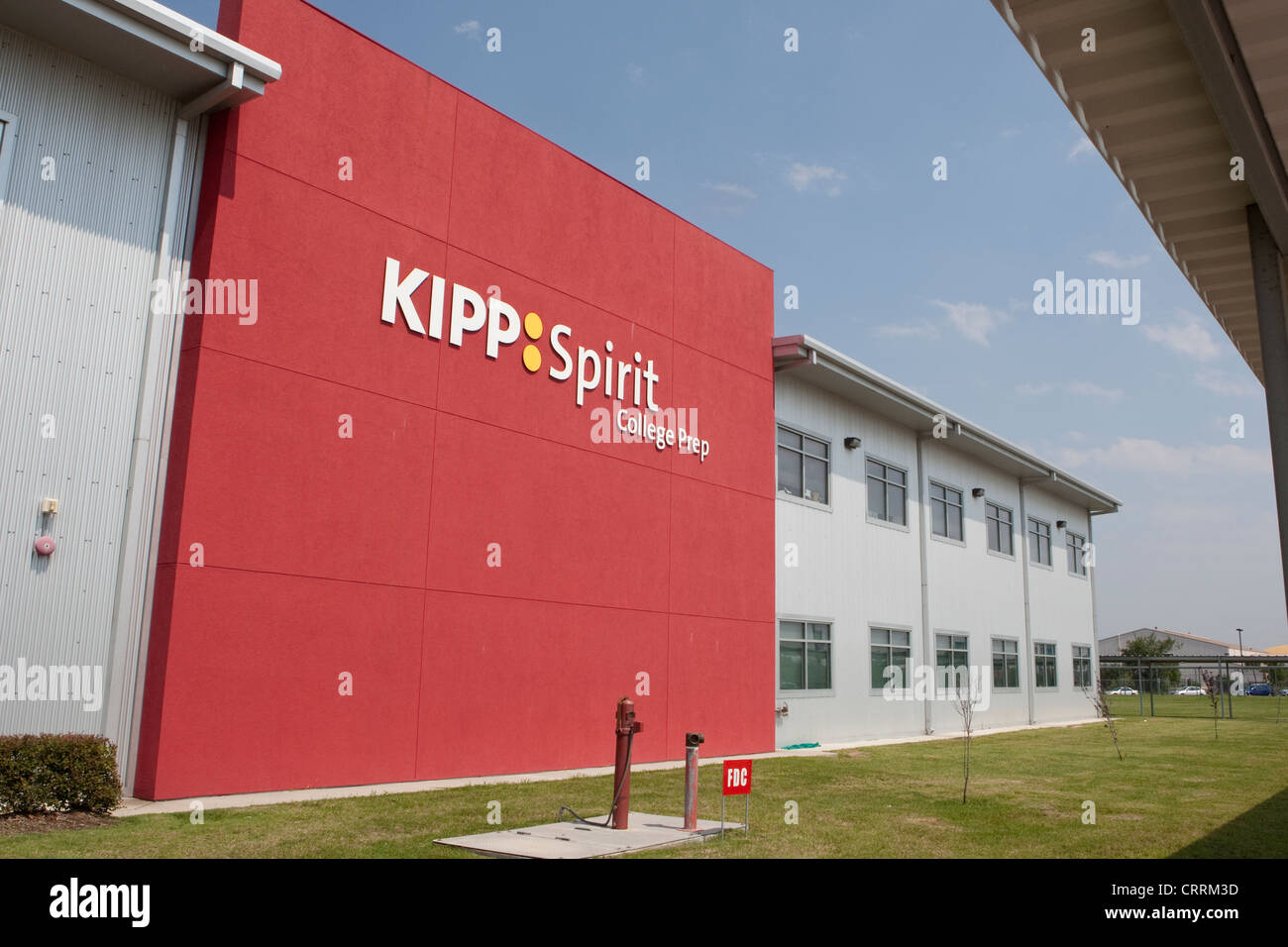 KIPP Sunnyside High School a public charter school in Houston, Texas - Stock Image