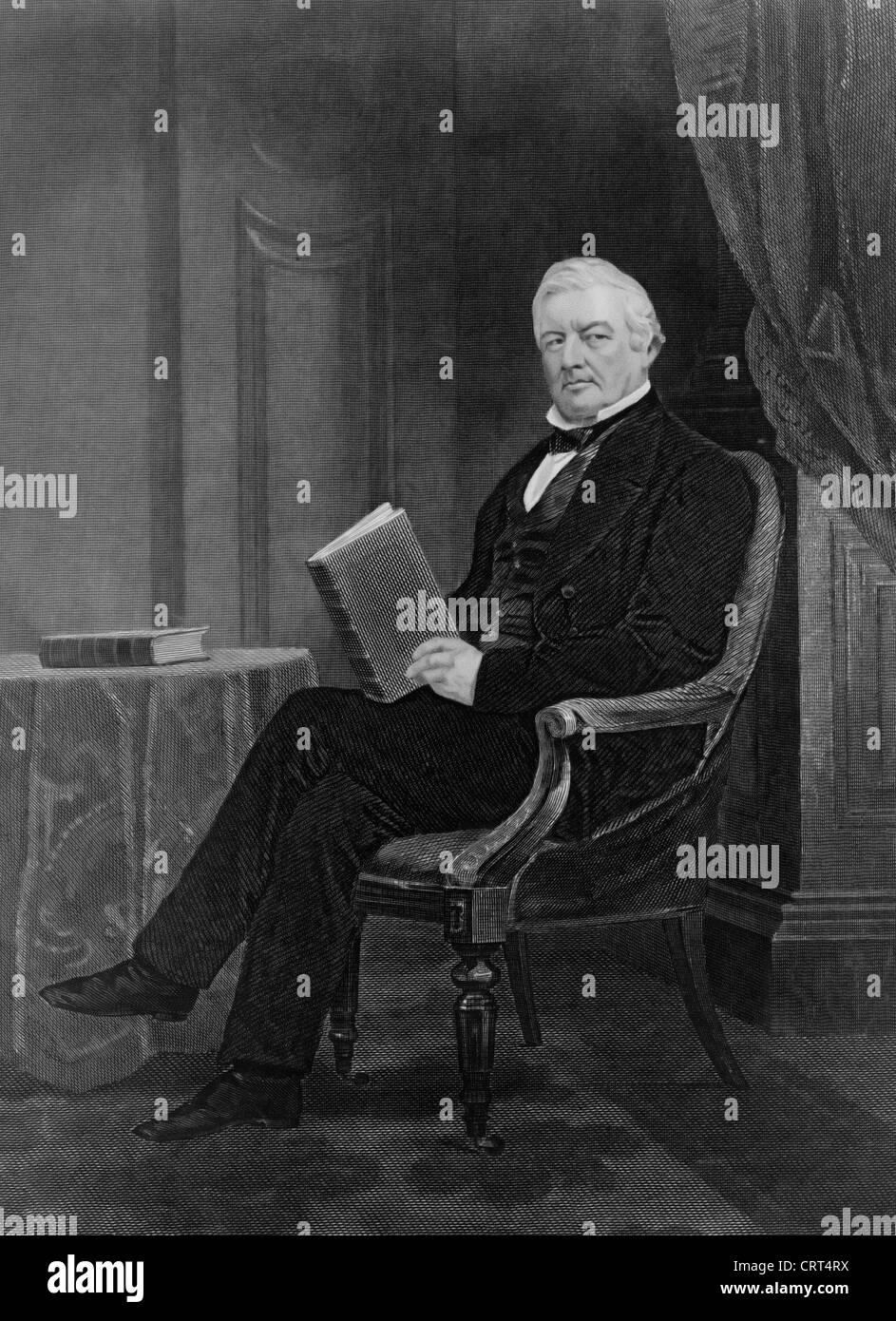 Millard Fillmore, 13th President of the USA, 1850-1853 Stock Photo