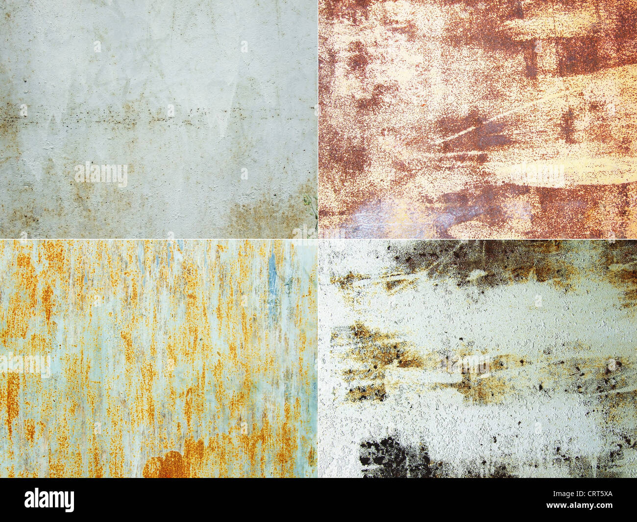 rusty metal surfaces great as a background - Stock Image