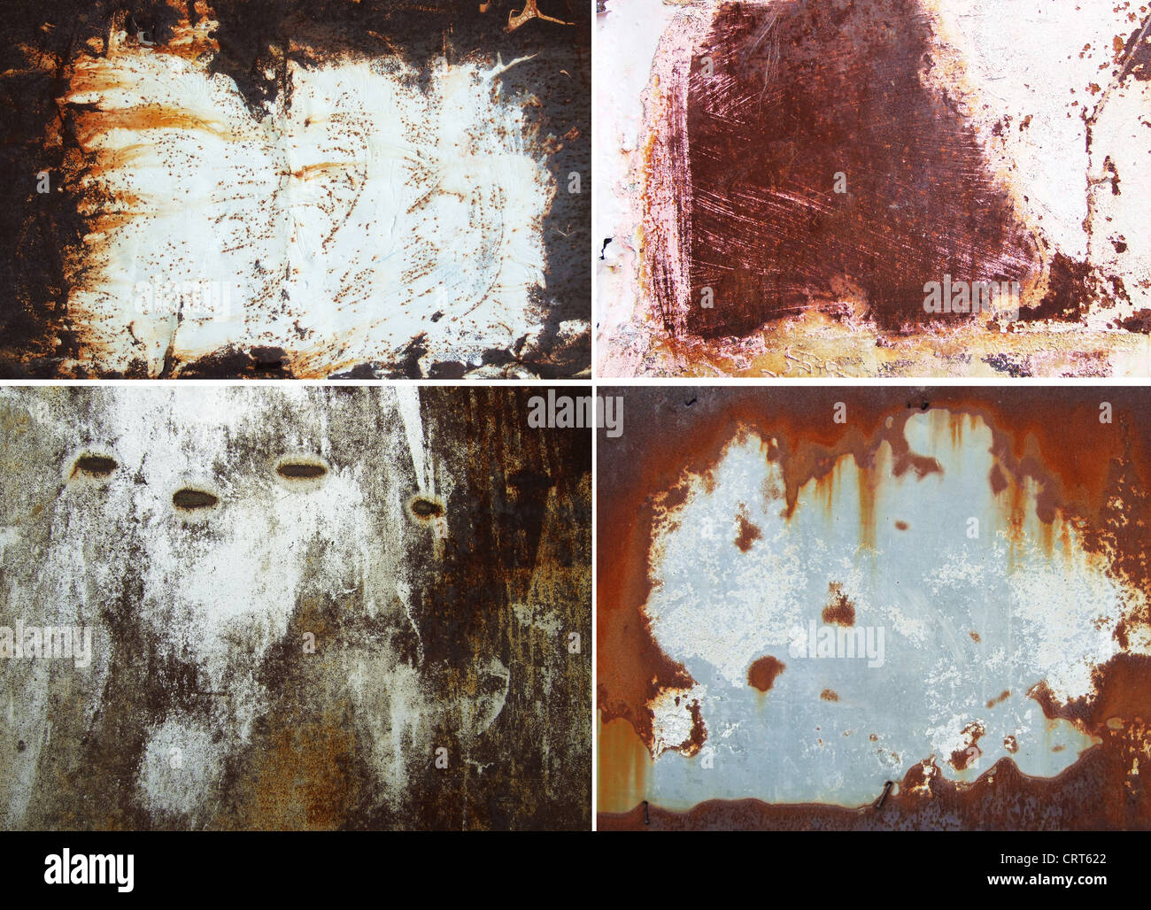 rusty grunge surfaces with copyspace for your text Stock Photo