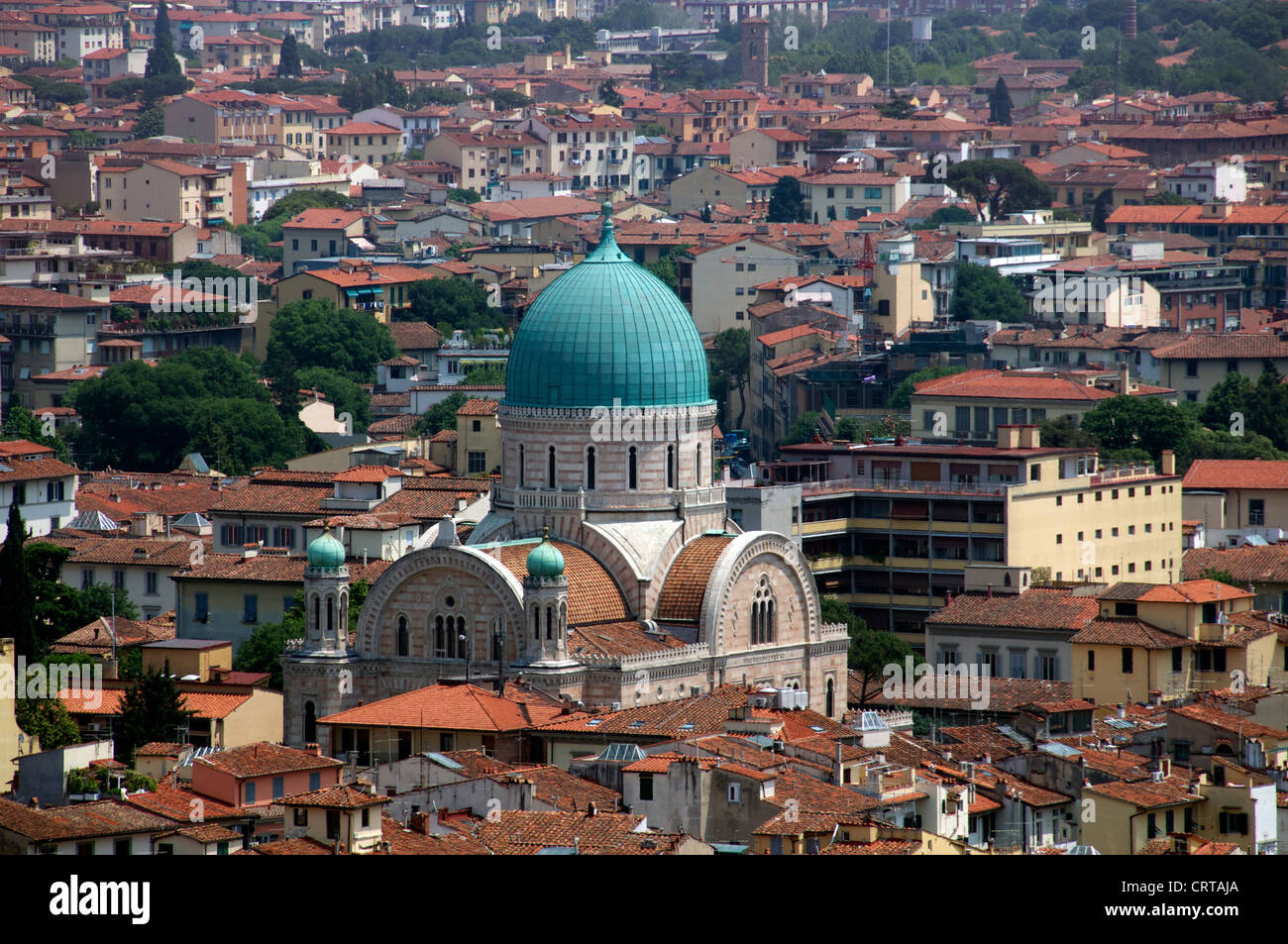 Great Synagogue Florence Italy Stock Photo