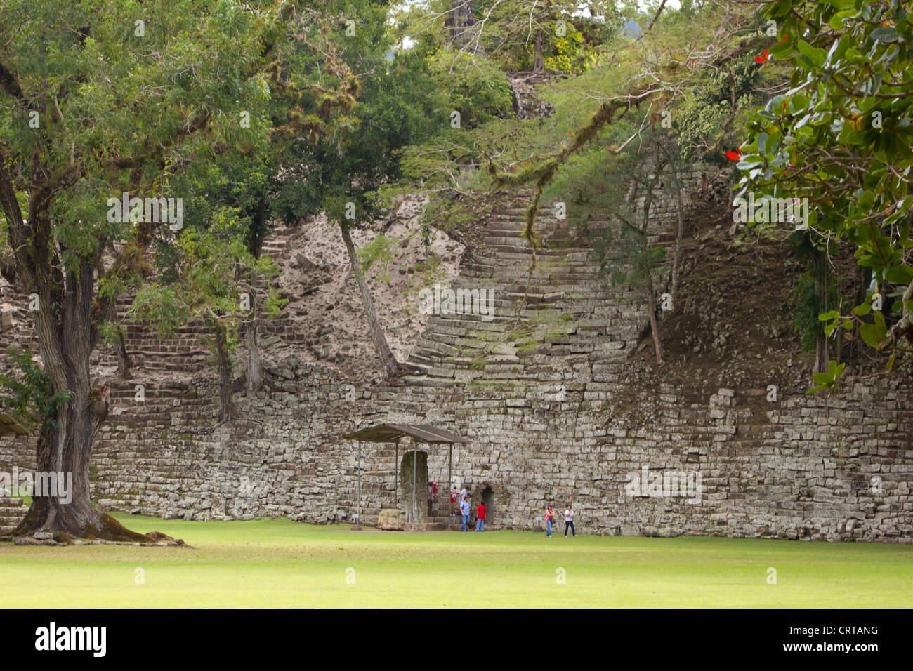 Copan Honduras Ruins - Stock Image