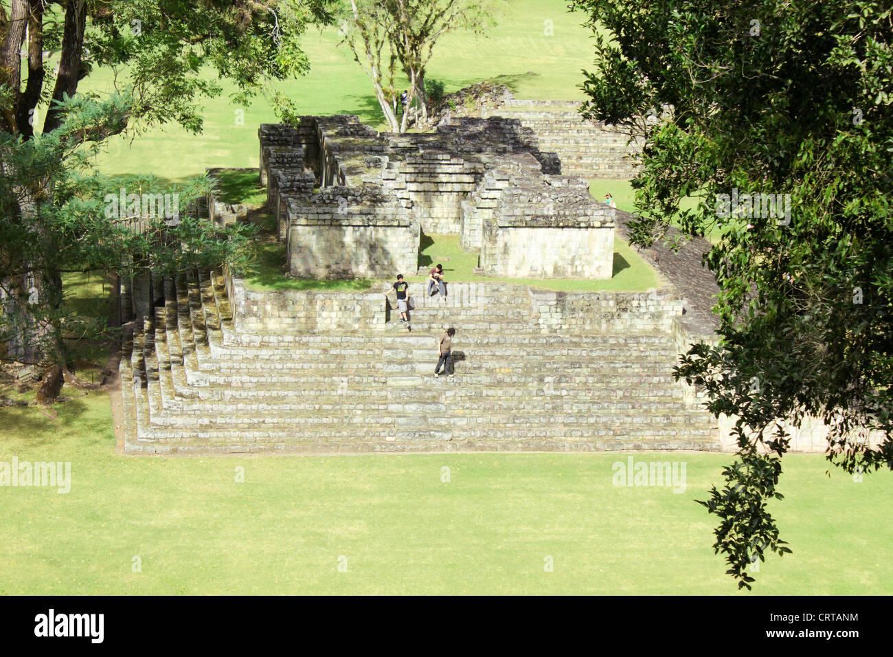 Copan Ruins - Stock Image