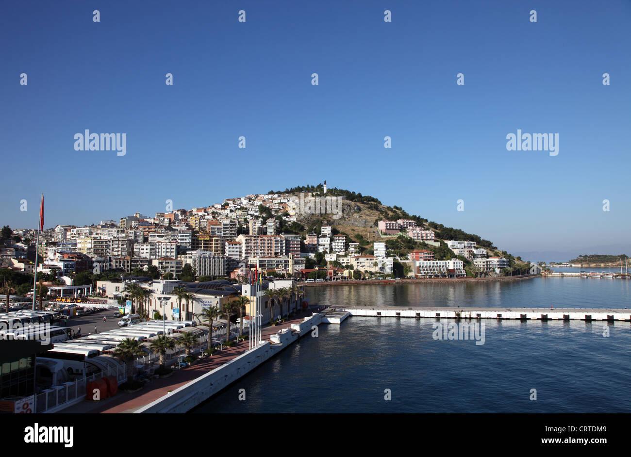 Kusadasi Port, Turkey, Asia Minor - Stock Image