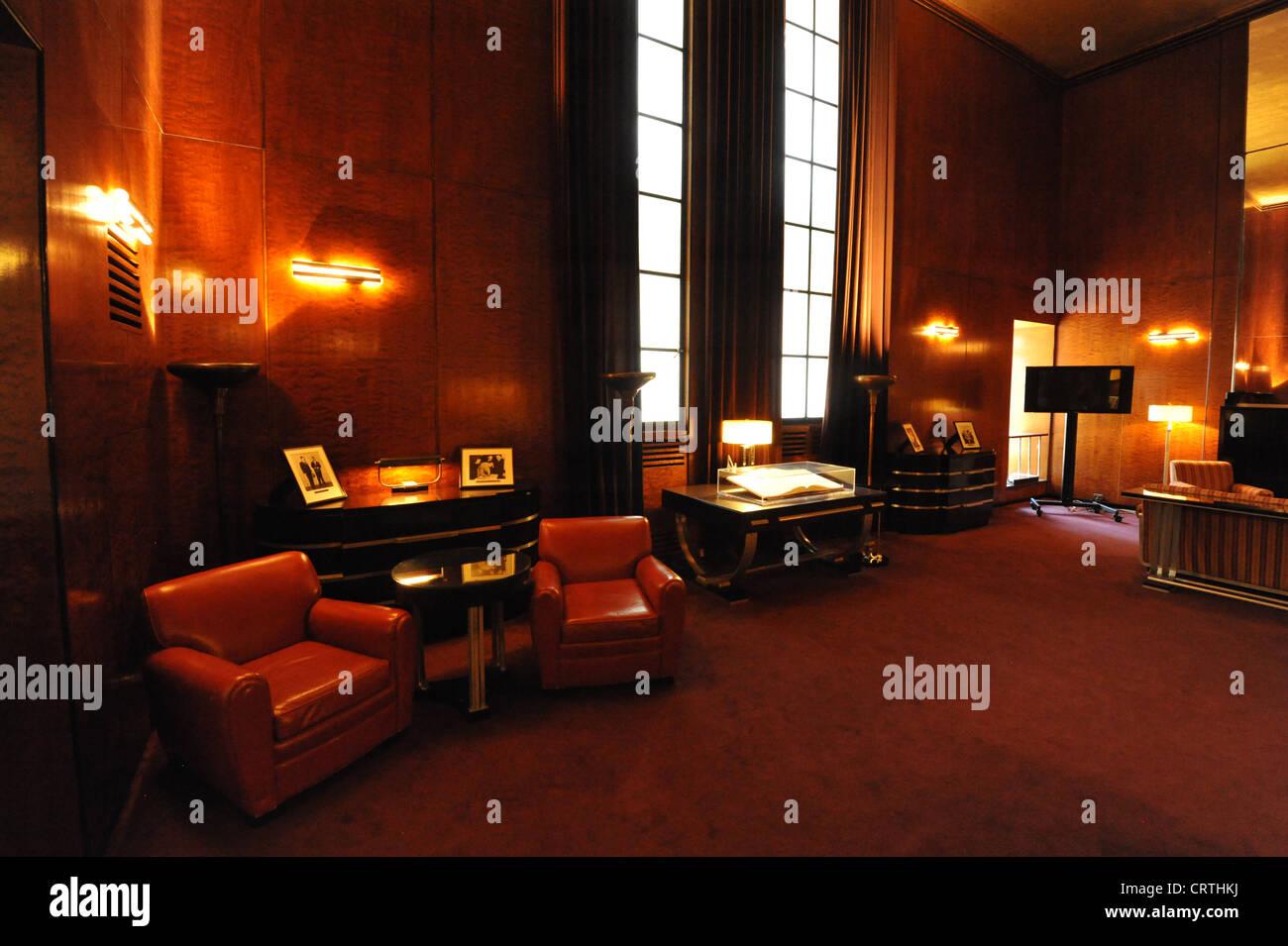 Radio City Music Hall, New York. - Stock Image