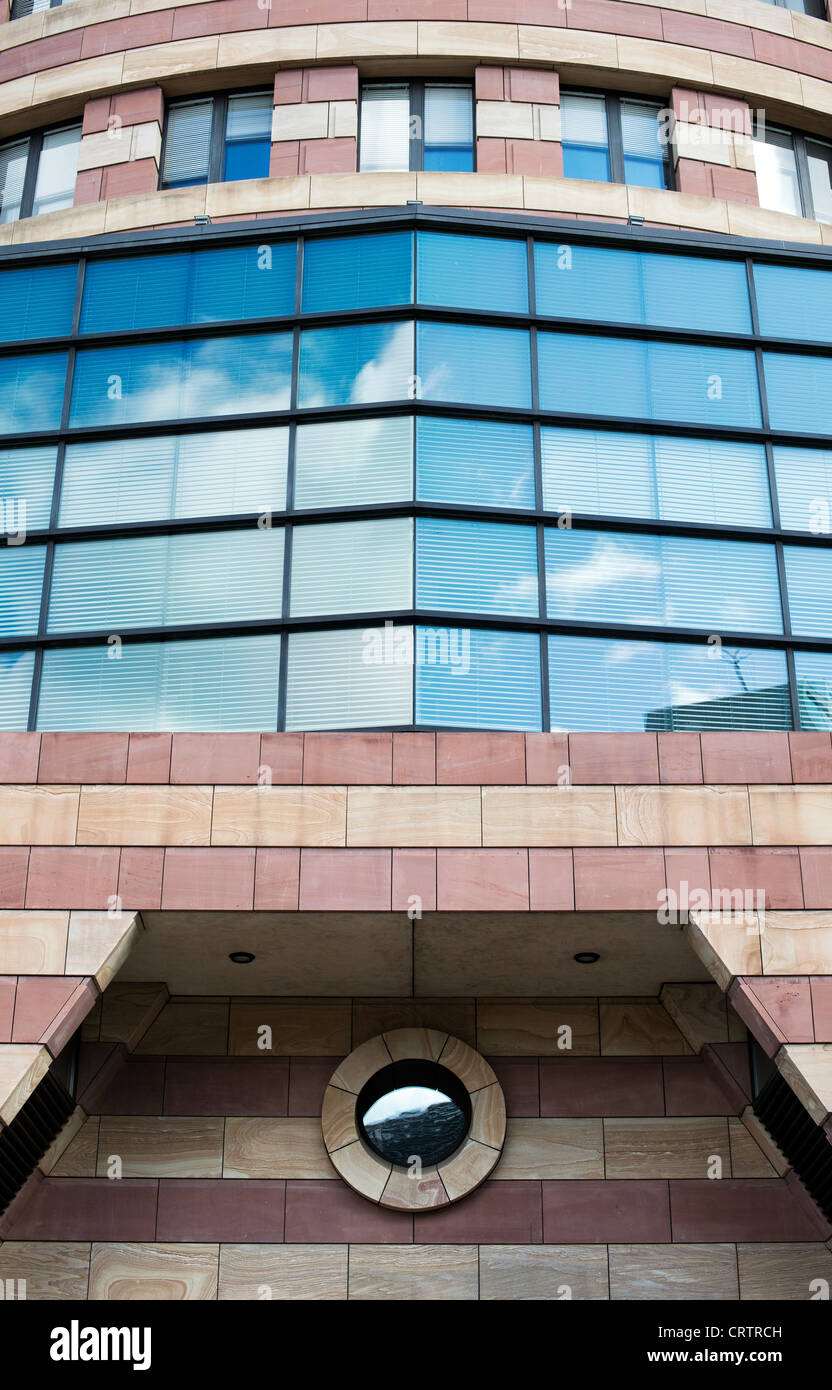 No 1 Poultry office / retail building. Queen Victoria Street, London, England - Stock Image