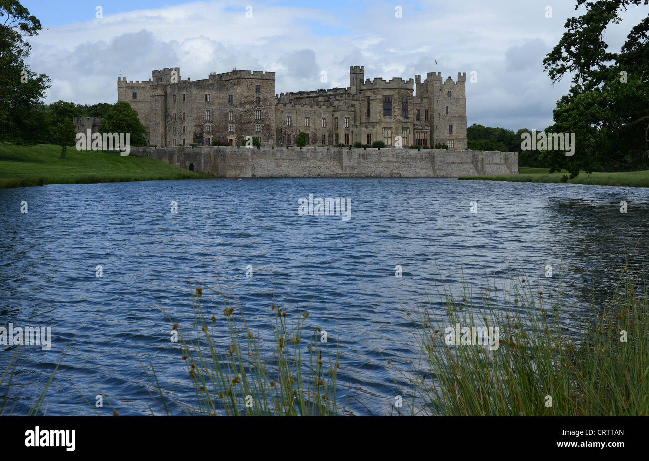 Raby Castle, County Durham, UK. - Stock Image