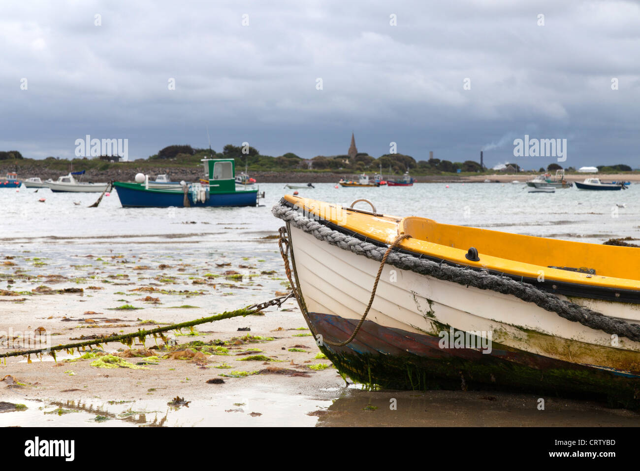 Le Grand Havre Guernsey - Stock Image