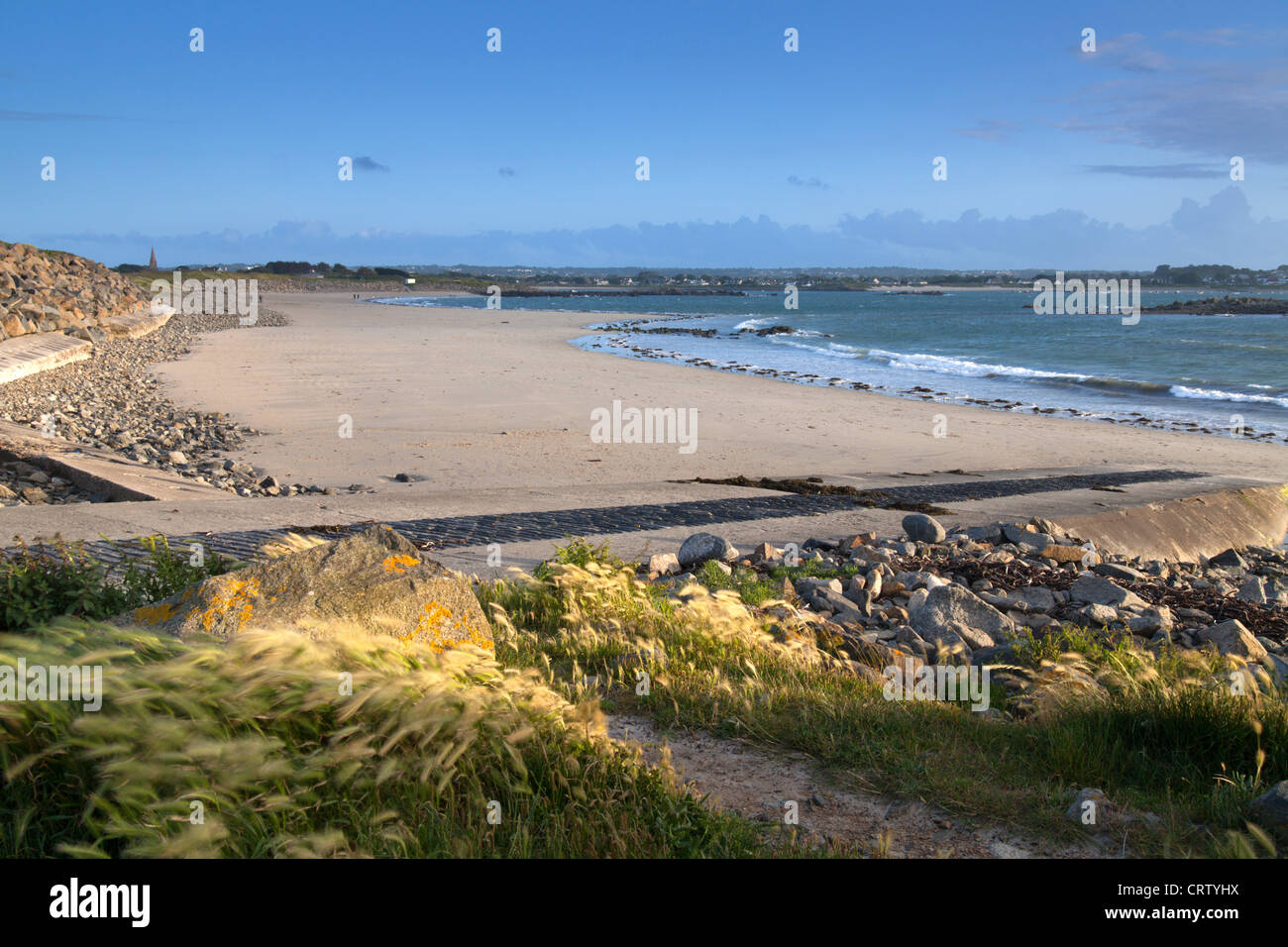 Ladies Bay, Le Grand Havre, Guernsey, Channel Isles, UK - Stock Image