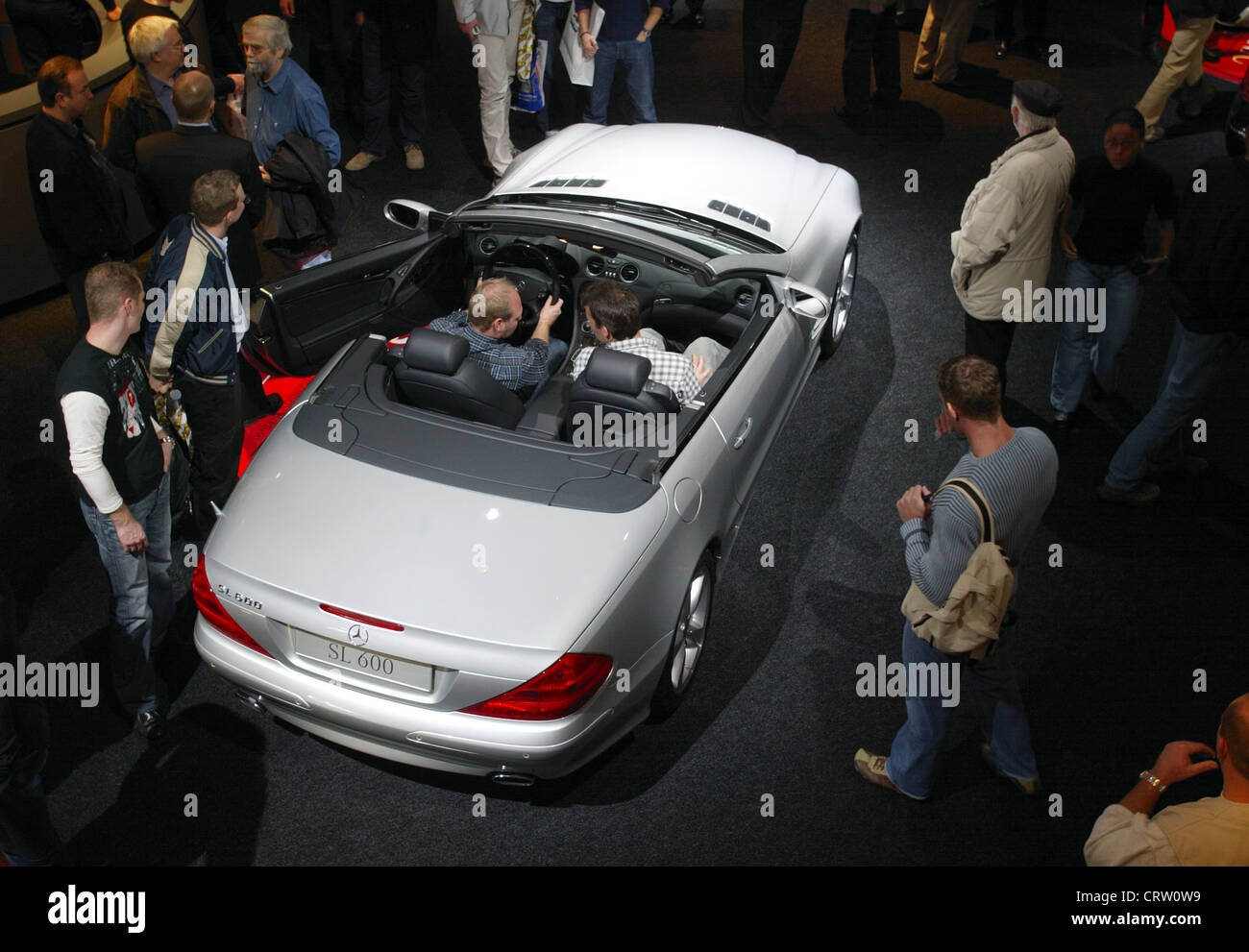 Mercedes SL 600 Convertible at the ESSEN MOTOR SHOW - Stock Image