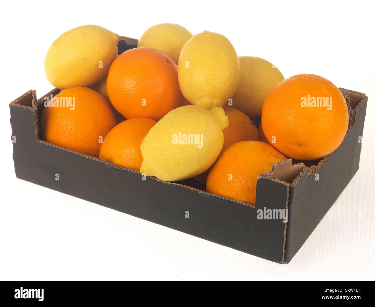Oranges and Lemons - Stock Image