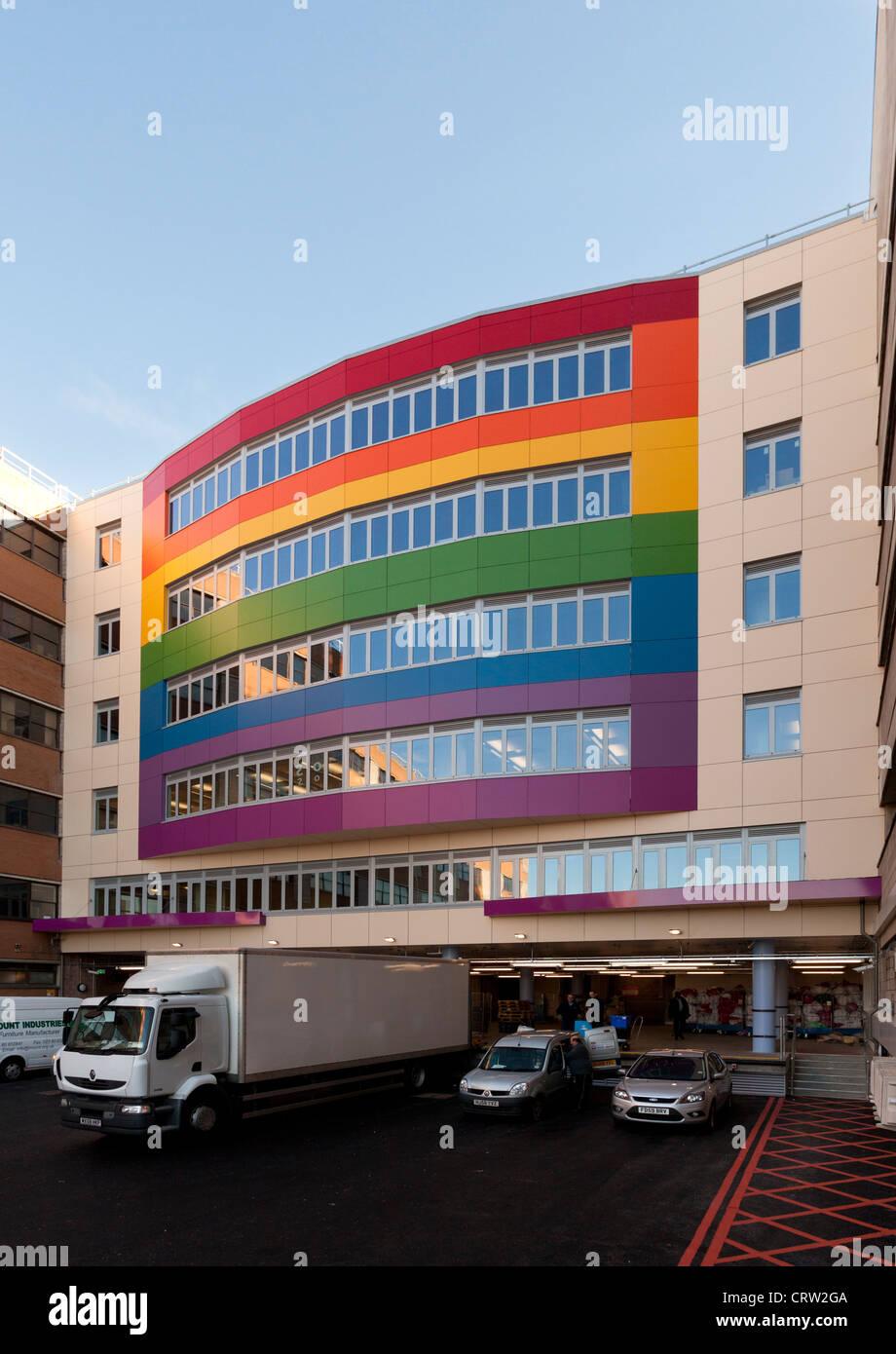 Biomedical Research Unit Southampton Hospital - Stock Image