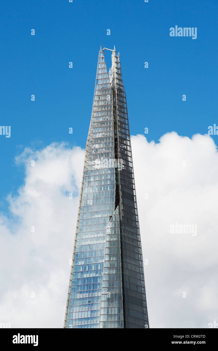 The shard / Shard London Bridge. Southwark, London, England - Stock Image