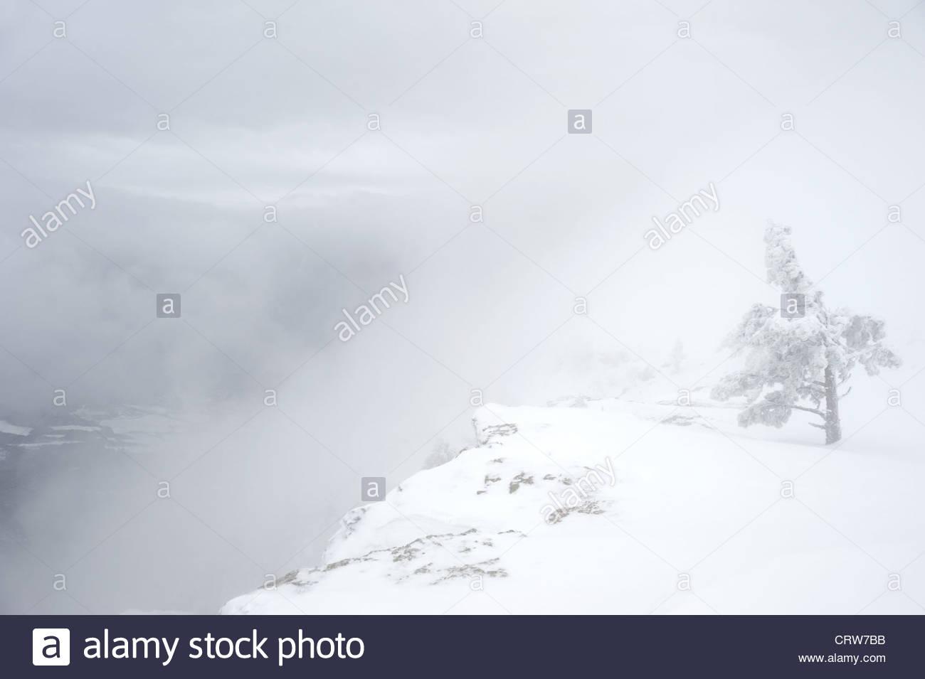 Mountain scarp - Stock Image